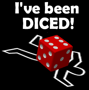 I've Been Diced! logo