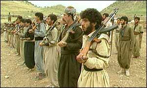 Ansar al-Islam fighters