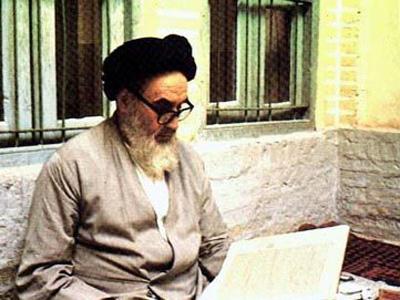 عکس امام خمینی (ره) ساده زیستی